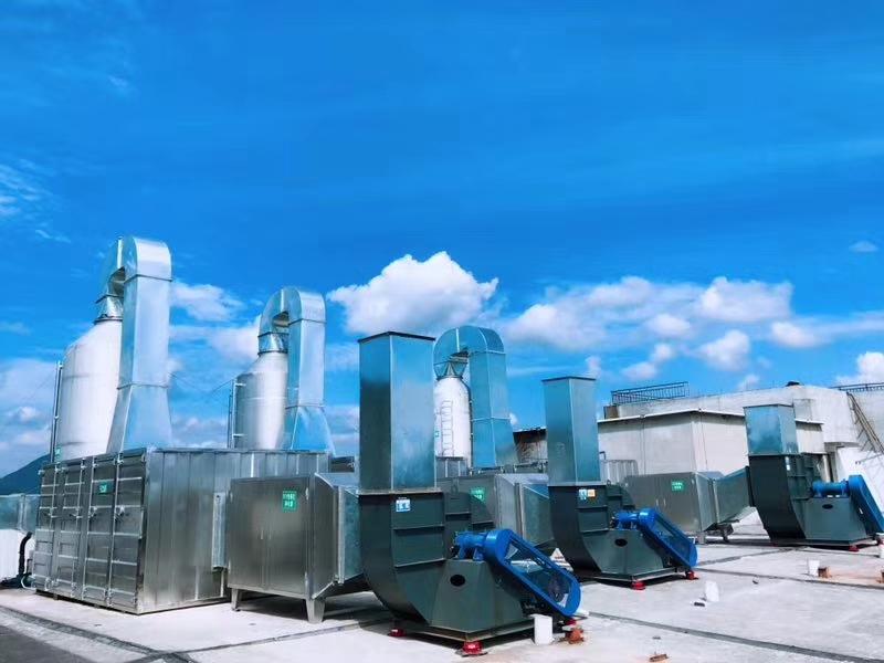 金属加工行业抛光净化处理案例