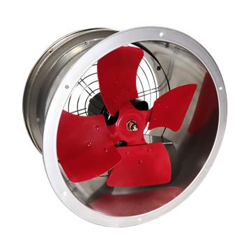 SF-G系列低噪音管道式轴流通风机