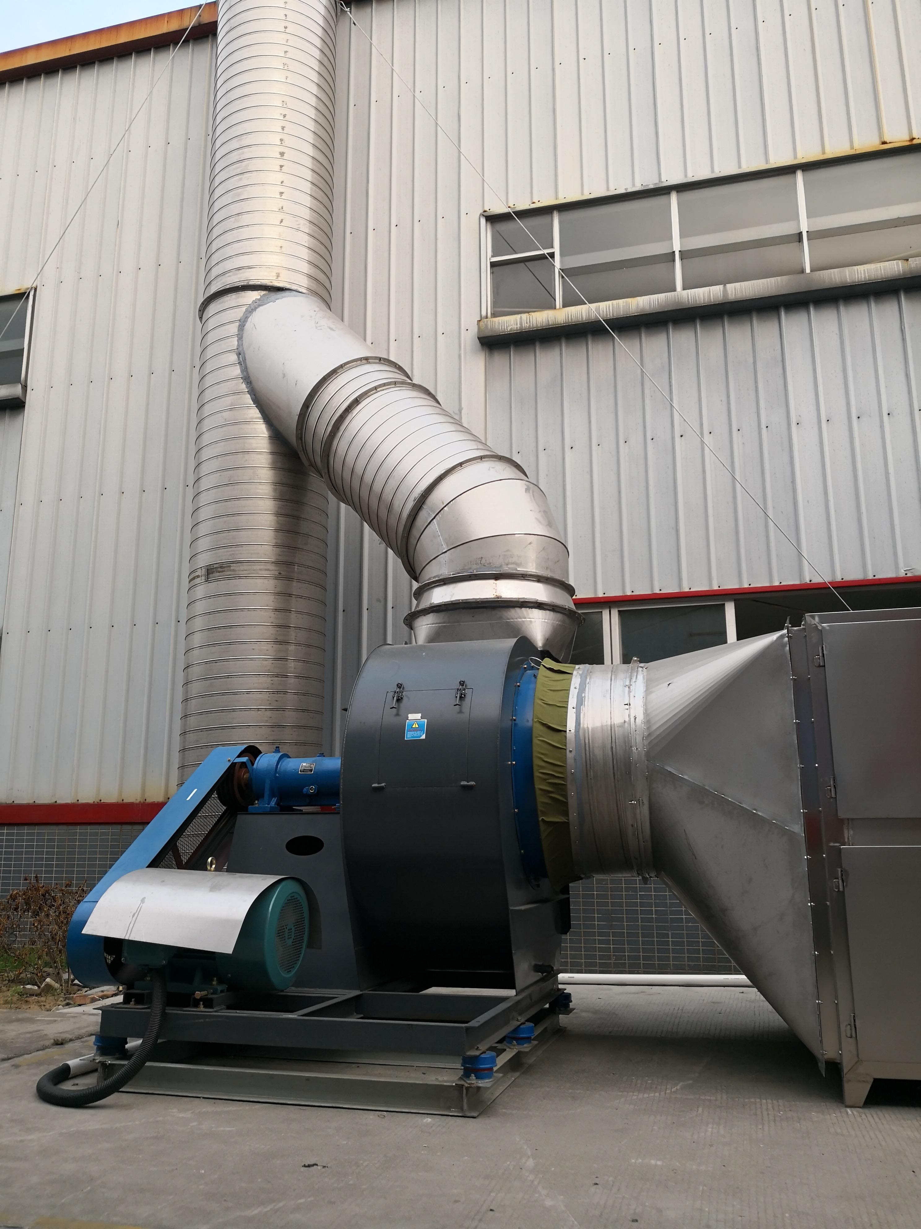 家具制造厂喷漆废气处理机器通风机