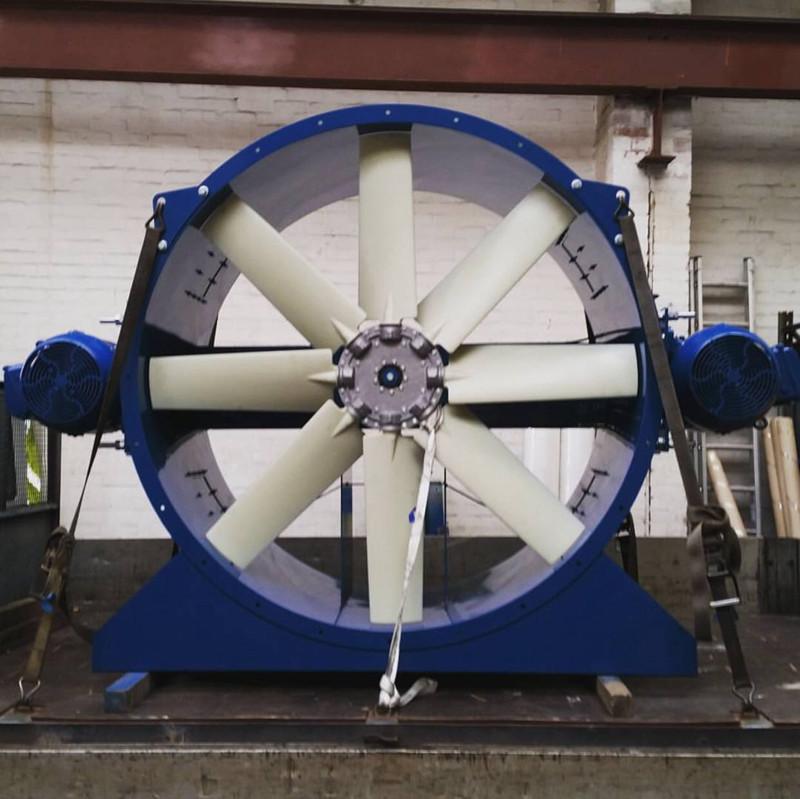 如何对刚安装的轴流式风机进行调试