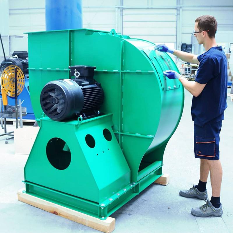 定制离心风机应该如何合适的生产厂家