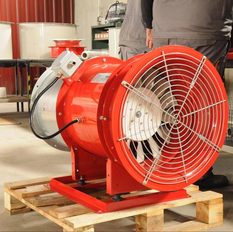 轴流风机在不同应用场合中的特点有哪些