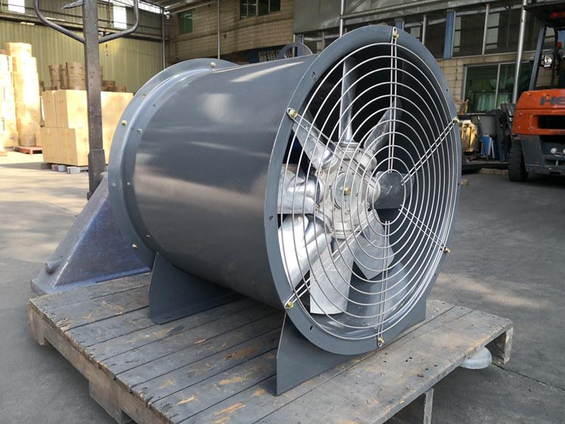 轴流风机在暖通通风使用方面的优点有哪些